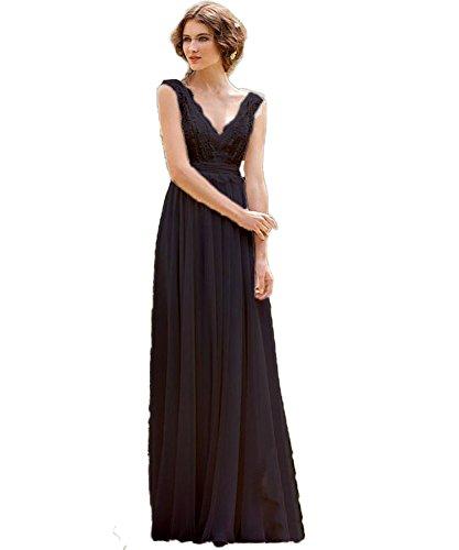 Strand Cap CoCogirls Braut Navy V Abendkleid Chiffon Bohemien Kleid Brautkleider Ausschnitt Sleeve Hochzeitskleider qgBgT8xw