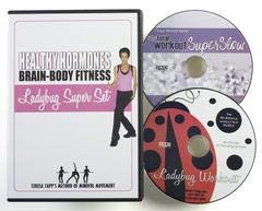 T-Tapp Healthy Hormones Brain-Body Fitness Ladybug Super Set