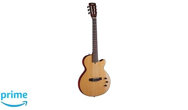 Cort SUNSETNY-NAT - Guitarra (calibre de cuerdas 28-43, madera natural): Amazon.es: Instrumentos musicales