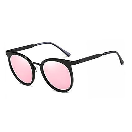 Fygrend Mirror Gafas de Sol Mujer Marca Oval Vogue Gafas de Sol polarizadas de Lujo del