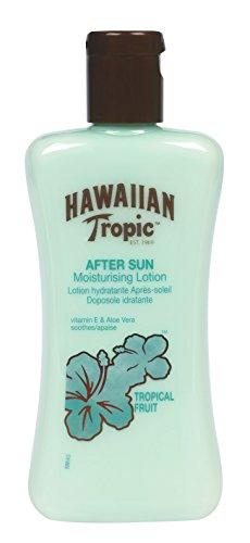 Moisturising Sun Lotion (Hawaiian Tropic After Sun Moisturising Lotion with Soothing Vitamin E and Aloe Vera, Tropical Fruit, 6.7 Ounce)