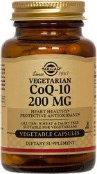Solgar CoQ10 200 mg - 60 - VegCap
