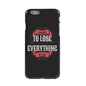 JOE Everything to Win Pattern Aluminum Hard Case for iPhone 6