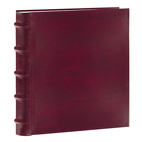 Pioneer Photo Albums 200-Pocket European Bonded Leather Photo Album for 4 by 6-Inch Prints, Burgundy