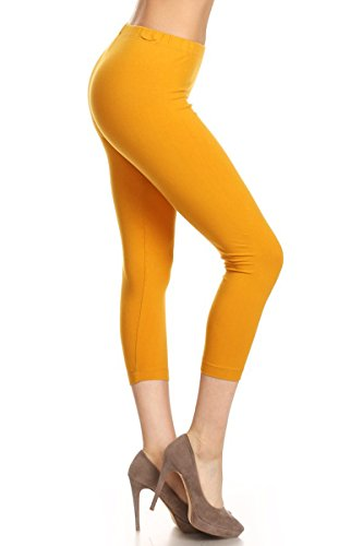 Yellow Cropped Pants - 5