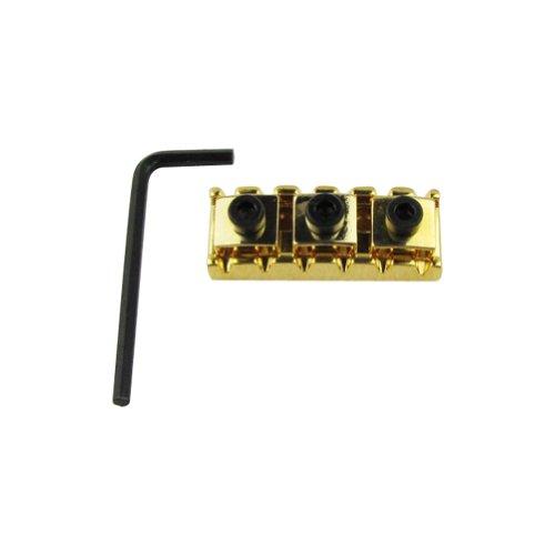 Musiclily 42mm Guitar Metal String Lock Locking Nut for Floyd Rose Style (String Lock)