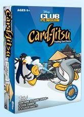 Club Penguin Disney Game (Disney Club Penguin Dojo Jitsu Trading Card Game Set Contains 23 Game Cards, 3 Code Cards 2 sticker sheets)