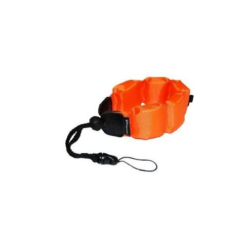 TS4 Digital Camera Underwater Accessory Kit Floating Wrist Strap - Orange - Replacement by General Brand ()
