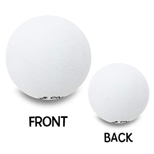 Tenna Tops - Plain White Car Antenna Topper/Antenna Ball/Eva Foam Craft Ball (1.75