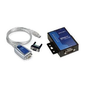 MOXA UPort 1150 USB to 1-Port RS-232/422/485 Serial Converter, 921.6Kbps, 15KV ESD Protection, Mini DB9F-to-TB