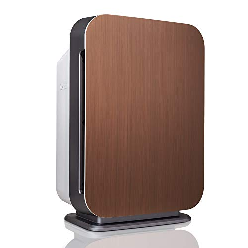 Alen BreatheSmart 75i Large Room Air Purifier, 1300 Sqft. Coverage Area, Antimicrobial True HEPA Filter, for Smoke, VOC's, Cooking Odors, Chemicals, Dust, Pollen, Dander and Fur, Brushed Bronze