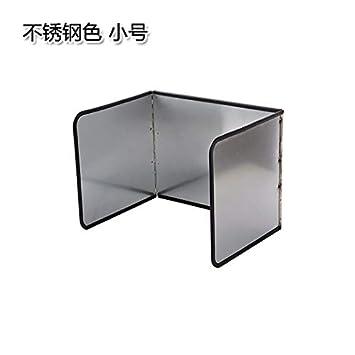 AAPP SHOP Cocina galvanizado Deflector de Aceite colapsable Estufa de Gas Placa Aislante Separador de Aceite Estufa Anti-Salpicaduras de Aceite Deflector ...
