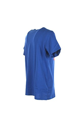 LEE Logo Maglietta T-shirt Uomo Blu L62AAIED-INDIGO FLASH