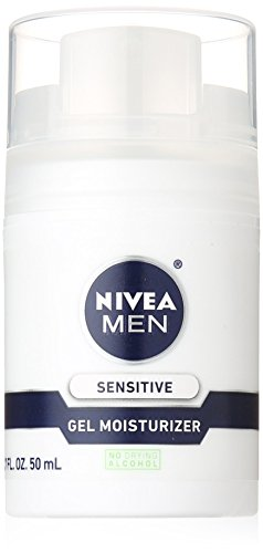 Nivea MEN Sensitive Non-Greasy Face Gel Moisturizer, 1.7 ...