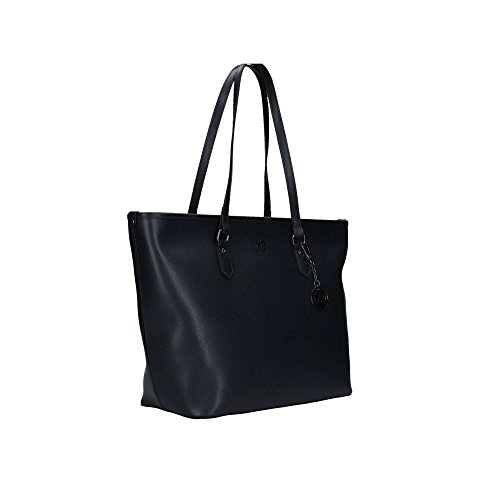 Borsa donna Y Not shopping in vera pelle 777 Melody blu