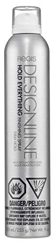 Hold Everything Spray, 9 oz - Regis DESIGNLINE - Extra Strong Finishing Hair Spray with Firm Hold