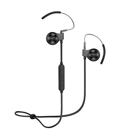 Origem HS-3 Bluetooth Headphones, Wireless Sports Earphones with DSP Audio Algorithm, True Voice Recognition, Rotatable Ear Hook, Graphene Driver and Fast Charging for Workout, Gym, - Bluetooth Dsp