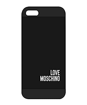 Logotipo de Moschino Logo iphone 5S caso, polvo-carcasa ...