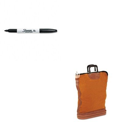 KITPMC04645SAN30001 - Value Kit - Pm Company Regulation Post Office Security Mail Bag (PMC04645) and Sharpie Permanent Marker (SAN30001) ()