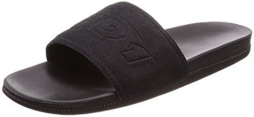 AND1 Men's Haven Basketball Shoe, Black/Black/Black, 10 M (Shox Black Basketball)