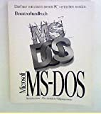 Microsoft MS-DOS 6.22 User Guide by…