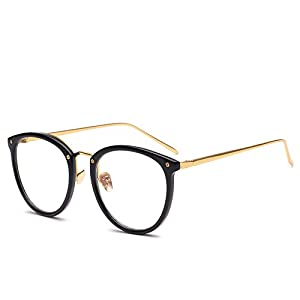 CRIUS 2017 New Metal Nose Pads Women's Glasses Frame Coupons For Fashion Eyeglasses Optical Black J76