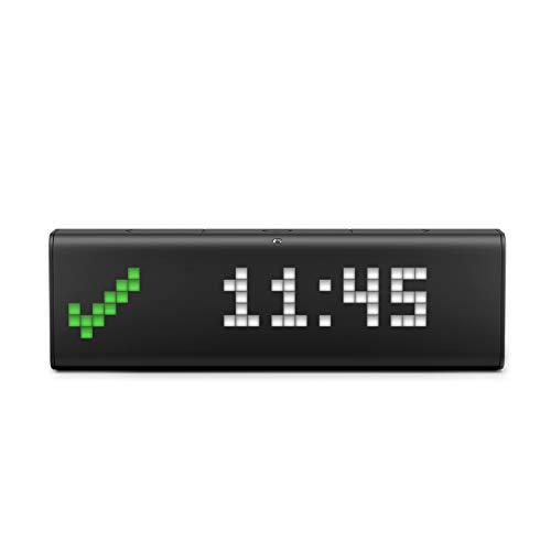 LaMetric TIME Wi-Fi Clock for Smart Home – Social Media Counter – Cinema Lightbox – Digital Alarm Clock with Weather…