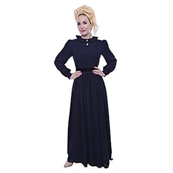 Hamsa Albaridi Blue Chiffon Special Occasion Dress For Women