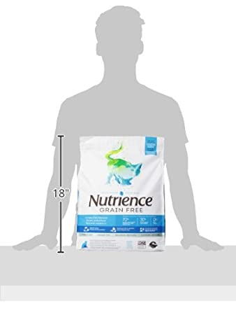 Amazon.com : Nutrience Grain Free Cat Food, 18-Pounds, Ocean Fish : Pet Supplies