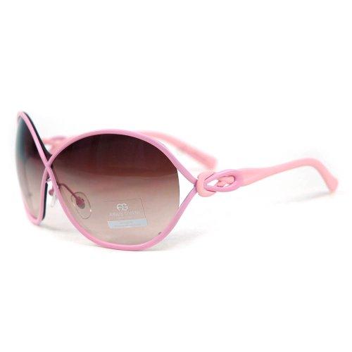 Anais Gvani Women's Chic Open Temple Fashion Sunglasses -Light - Sunglasses Chic 2014