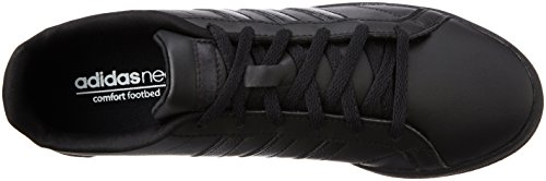 adidas Vs Coneo Qt W, Zapatillas de Deporte para Mujer Negro (Negbas / Negbas / Negbas)
