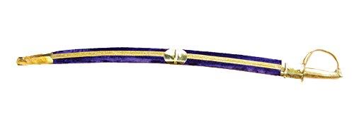 Morris Costumes Calvary Sword 36In Purple ()