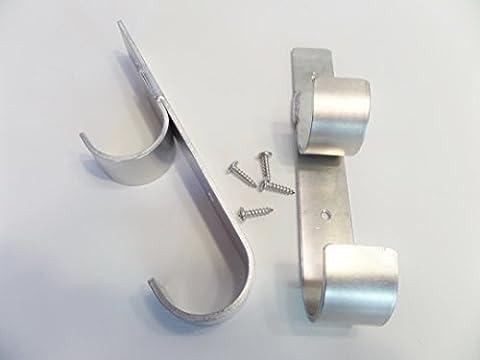 Aluminum Double Skimmer Pole Hanger - Pole Hangers