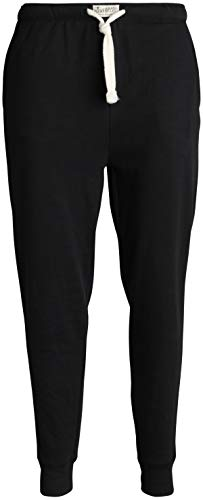 Lucky Brand Mens' Active French Terry Jogger Pants, Black, Size ()
