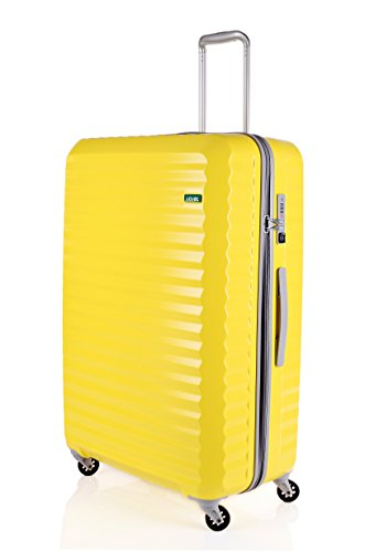 lojel-groove-zipper-large-spinner-luggage-yellow-one-size