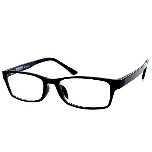 Gloss Black Frame Shortsighted Myopia Distance Glasses -1.25 Strength *These are not reading - Glasses Short Distance