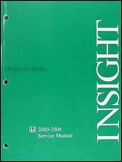 2001 honda insight manual
