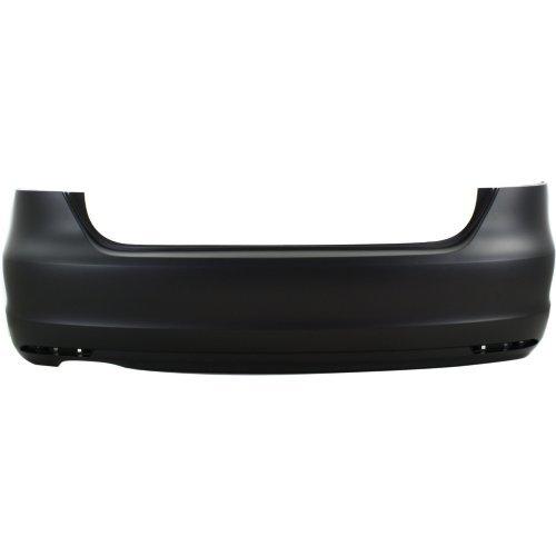 Rear Bumper Cover Compatible with Volkswagen JETTA 2011-2015 Primed Sedan - CAPA