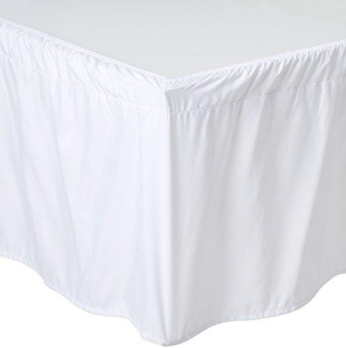 De Moocci Wrap Around Style Tailored Bed Skirt Bedskirt, ()
