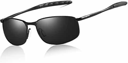 d8fd859047f FEIDU Polarized Sport Mens Sunglasses HD Lens Metal Frame Driving Shades FD  9005