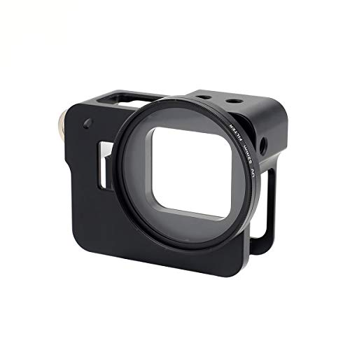 Windwinevine Carcasa rígida de aleación de Aluminio, Carcasa rígida, cámara de cámara Deportiva FPV, Montura con Lente...