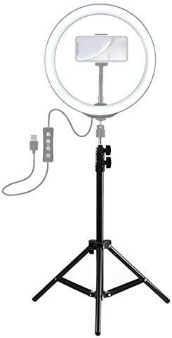 KANEED カメラアクセサリー 撮影機材 Vloggingビデオライトライブ放送キット用1.1メートルの高さ三脚マウントホルダ