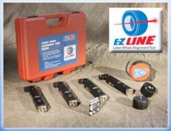(E-Z Red EZLINE Laser Wheel Alignment Tool)