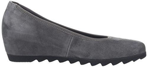 Gabor Damen Basic Ballu Flats Grau (grigio Scuro 19)