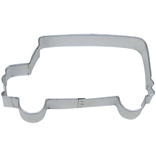 Bus Cookie Cutter 4.5 in