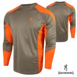 Browning NTS Upland Shirt, Blaze, Small by Browning