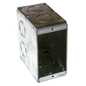 - Electrical Box, Masonry, 1 Gang