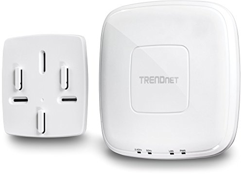 TRENDnet AC1750 Dual Band PoE Access Point, 1300Mbps WiFi AC+450 Mbps WiFi N, WDS Bridge, WDS Station, Repeater Modes, Band Steering, WiFi Traffic Shaping, Up to 8 SSIDs-16 Total, IPv6, TEW-825DAP by TRENDnet (Image #4)