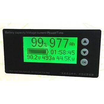 Universal 10-100V Battery Capacity Indicator Voltmeter Li-ion Lifepo4 Lead Acid