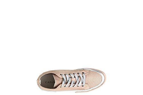 Kde127 Mid E18 333 Sneakers Noir Cipria Cafè Cuir Microperforé Lace 5Eqfx6Pw